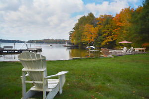 VACATION  PORT CARLING COTTAGES RESORT FOR SALE ON MUSKOKA LAKE