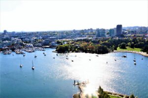Amazing View High End Apt in Yaletown 3 beds for rent- Furnished