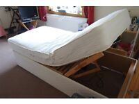 Electric adjustable single bed £80.00