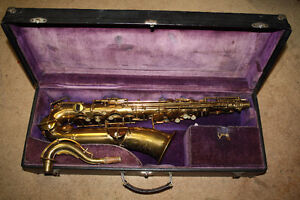 1922 Buescher True Tone Gold Paint C Melody Saxophone