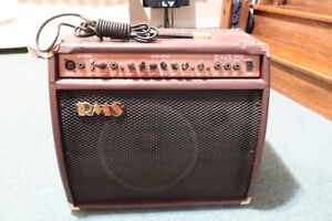 RMS RMSAC40 WATT ACOUSTIC AMPLIFIER (USED EXCELLENT CONDITION)