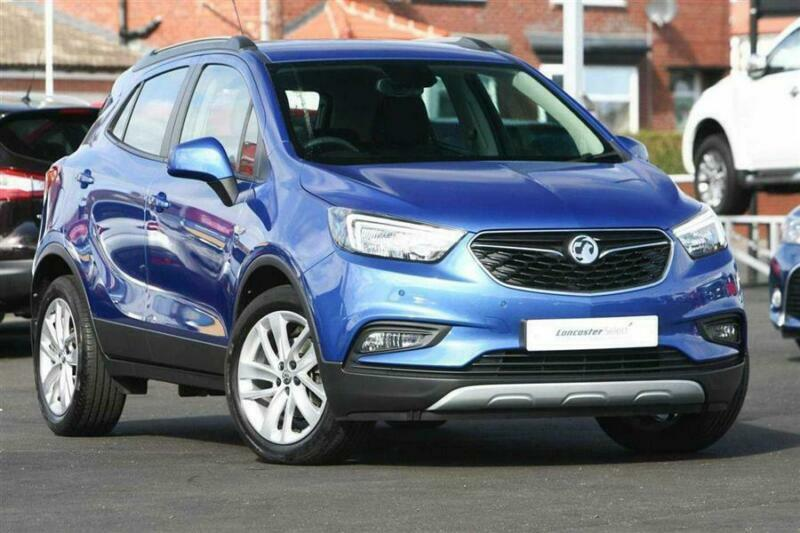 ecfb82ee52 2016 Vauxhall Mokka X 1.4i 16v Turbo (140ps) Active (s s) Petrol blue Manual