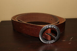 American Eagle womens brown leather belt