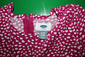 Girls Dress with Hearts Print- Girls Size 5 - Like New Peterborough Peterborough Area image 2
