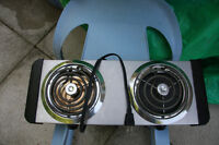 SUPERIOR 2 RING ELECTRIC STOVE