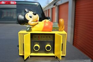 Mickey Mouse AM radio REDUCED NOW $60.00