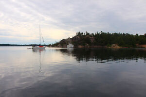 Only cabin on the Island-5 acres-the rest is Crown Land!!
