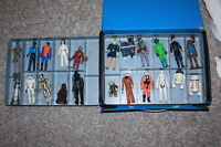 STAR WARS MINI ACTION FIGURE COLLECTOR'S & CASE 1977 No. 39190