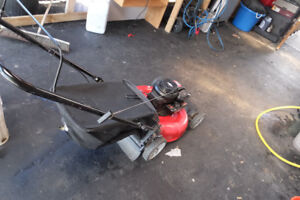yard machine lawnmower with bag  for sale