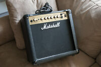 Marshall guitar amplifier MG15DFX      Watch     |     Share