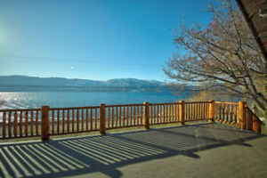 Okanagan Lakeside Chalet c/w Bare Building Lot