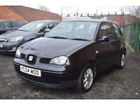 SEAT Arosa 1.4 S Auto - 3 MONTHS WARRANTY (black) 2004