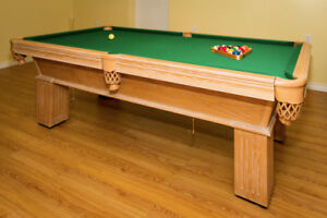 Pool table (billiard) 8'x4'