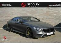 2017 Mercedes-Benz S Class 4.7 S500 V8 AMG Line G-Tronic (s/s) 2dr Coupe Petrol