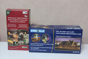 LIGHT  CLIPS - 3 BOXES
