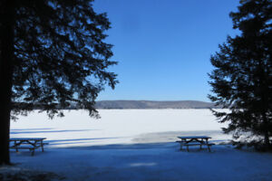 Lakefront Cottage for New Years Kearney, ON.  Hot Tub options