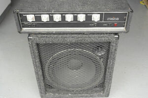 Amplifier head and cabinet  combo West Island Greater Montréal image 1