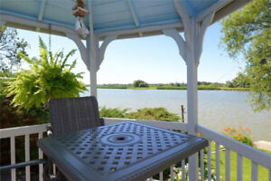 Waterfront Grand River home for sale $575,000