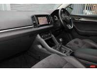 2018 Skoda KAROQ SUV 1.0 TSI (115ps) SE L Petrol white Manual