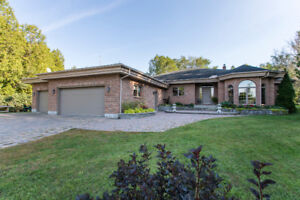 Spacious Bungalow on 2 Acre Lot w Private Lake- 6088 Gough Road