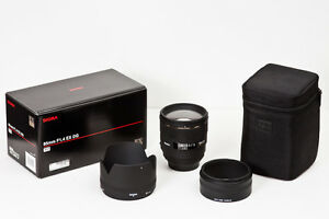 Sigma AF 85mm F1.4 DG HSM - Nikon - Great Condition.
