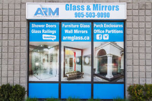 Glass Shower, Partition, Glass Railing, Porch Enclosure, Mirrors