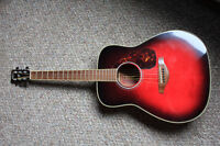 Cherry Red Yamaha Guitar FG720S