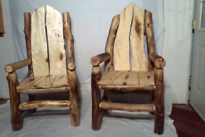 Hand crafted log Furniture for sale. Yellowknife Northwest Territories image 8