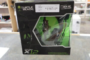 Turtle Beach XBOX 360 Gaming Headset EarForce x 12 (#1587-1)