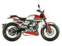 FB Mondial Flat Track 125cc custom classic retro cafe racer style motorcycle