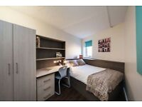 Silver ensuit room at Fairfield House M60 (students only)