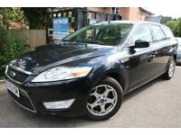 2010 10 Plate Ford Mondeo ZETEC 2.0 TDCI 140 Black Estate FSH Finance Available