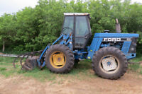 For Sale Ford Bi Directional Tractor Swathers and Grain Dryer