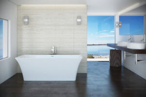 Bains autoportants acrylique/free-stand bath-tubs Mirolin
