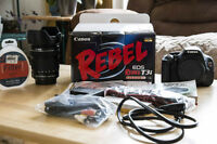 Canon Rebel T3i and Canon EF-S 18-135mm F3.5-5.6 IS STM Lens