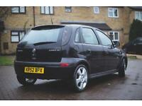 2002 Vauxhall Corsa 1.4i Sri + 10 Stamps, MOT 04/2017 Drives Fine
