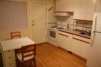 Ground level suite - 1bd, 1ba, kitchen in charming neighborhood