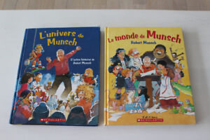 """ ROBERT MUNSCH "" HARDCOVER BOOKS IN ***FRENCH***"