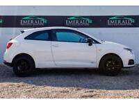 2012 61 SEAT IBIZA 1.4 SE COPA 3D 85 BHP