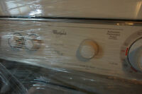 Whirlpool Thin Twin Condo Size Washer dryer with Tubes