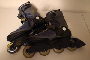 K2 Velocity In-line Skates/Roller Blades Mens Size: 9US / 42 EUR