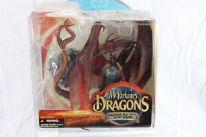 McFarlane Dragons Quest for the Lost King Sorcerers Clan Dragon