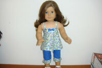 Capri outfit to fit American Girl