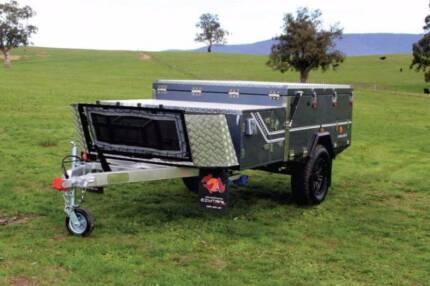 Ezytrail Stirling Z Off Road Light weight Camper Trailer