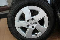 TOYOTA PRIUS 2009 ALLOY RIMS with 195/65/15 TIRES -LIKE NEW