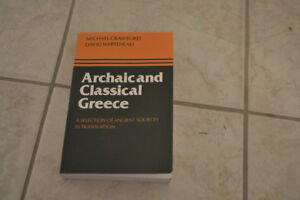 USED ANCIENT GREECE PRIMARY SOURCE TEXTBOOK