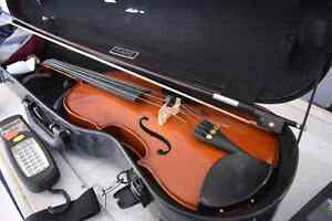 **GREAT DEAL** Menzel Handcrafted Violin + Bow + Hard Case