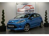 2010 10 FORD FIESTA 1.6 ZETEC S TDCI 3 DOOR MANUAL DIESEL IN BLUE