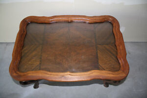 Vintage Solid Walnut Serving Table Kingston Kingston Area image 7