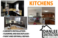 Kitchen and batbroom renovations